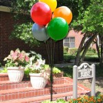 no helium balloon at business